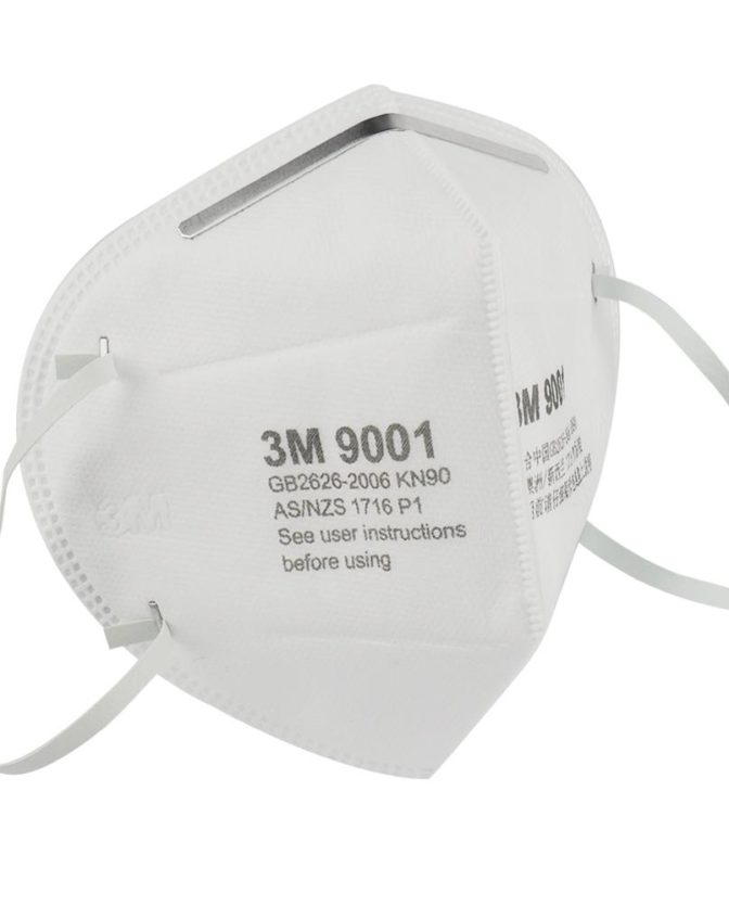 CDC Approved for medical use. 3M 9001 KN90 Particulate Respirator Earloop Protective Face Mask GB2626-2006 Certification Standard